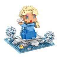 best big block - LOZ big gift box Anna Olaf Frozen series block Best Gift For kids Loz d Blocks Toys birthday for boys girls