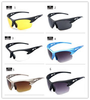 Wholesale 2014 Best colors cool sport Cycling eyewear bicycle bike Motorcycle men sunglasses Wind insect resistant sunglassesH0152