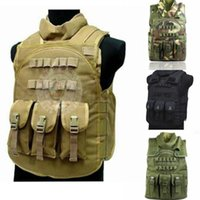 amphibious tigers - Tactical vest Flying Tigers seal Camouflage amphibious High quality cs Counterterrorism Military Protective Training combat