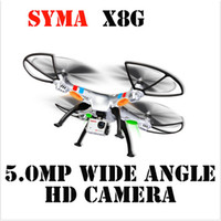 Wholesale Syma X8G G ch Axis Venture with MP Wide Angle Camera RC Quadcopter RTF RC Helicopter Aerial Drone