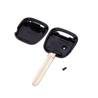toyota car remote key - Uncut Blade Flip Fob Remote Car Key Case for TOYOTA Side Button Car Key Shell Cover Replacement Keyless Car Key Holder order lt no track