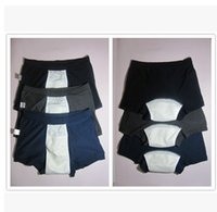 adult male diapers - Male adult reusable nappie adult incontinence diaper labs pants for adult cotton briefs gifts for father and grandfather