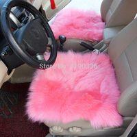 Wholesale Sheepskin Car Cushion - Free Shipping 2pcs Sheepskin Car Seat Cushions M49349 cushion house car cushion cushion brush