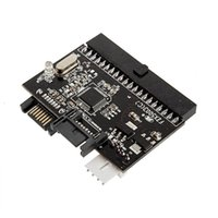 cd ide converter adapter - 1Pc in SATA to IDE Converter IDE to SATA Adapter Converter for DVD CD HDD Newest