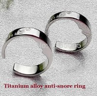 Wholesale reduce snoring ring Anti Snoring Snorring Acupressure Anti snore Ring Enjoy Better Sleep and Happier Relationships Acupressure Ring on Lit