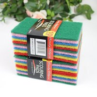 Wholesale Kitchen cleaning cloth cheap and practical Direct color scouring pad wipes cleaning cloth scouring pad wash cloth g