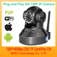 Wholesale 720P MP Megapixel HD IP Camera Wireless Wifi P2P Plug and Play Network CCTV Camera HDM1