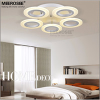 Wholesale LED Ring Ceiling Light Fixture Flush Mounted Acrylic White LED Aisle Ceiling Lamp Hallway Porch Light Different sizes