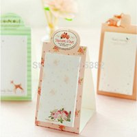 note pad printing - Lovely flower printed sticky note Memo pad Memo sticker types Lovely stationery tt