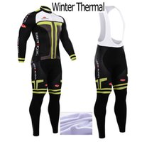 Wholesale Fleece Thermal for winter TTT cycling jersey sport suit mountain bike ropa ciclismo bicycle MTB bicicleta clothing D gel pad BIB