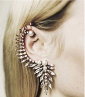 Wholesale Crystal earhook A04