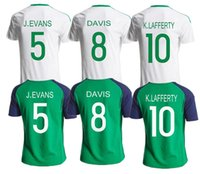 ireland - Northern Ireland DAVIS K LAFFERTY Thailand Quality Soccer Jersey Brand New Soccer Shirts Free Customized