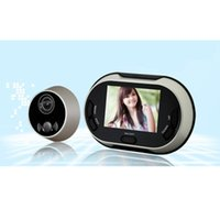 Wholesale 3 quot TFT Digital Video Doorbell Doorphone Peephole Viewer Lens AutoTake Photos Don t Disturb Function