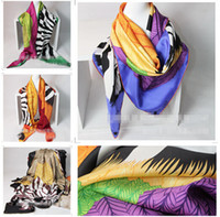 silk twill scarf - Shawl SCARF Zebra Pegasus Cashmere Silk Shawl Scarf CM big size luxury scarves Twill silk silk Scarves christmas gift M0507