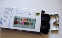 Wholesale pack with retail box Bag Rack Over the Door Organizers Holding Handbags