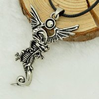american west jewelry - West Drago male personality vintage accessories necklaces pendants titanium steel men jewelry necklace