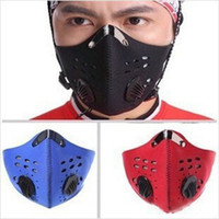 Wholesale Anti Dust Cycling Face Masks Filter Half Face Neoprene Filter Bike Ski Motorcycle Anti Pollution Masks Sportswear