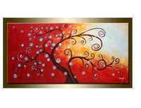 art alternatives canvas - Alternative tree full of modern art pure hand painted