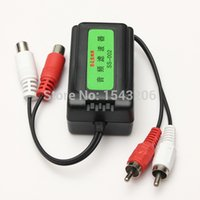 Wholesale High Quality mm Car RCA Amplifier Ground Loop Isolator Audio Noise Filter Suppressor small order no tracking