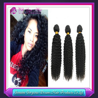 Wholesale Indian virgin hair extension grade A unoprocessed Indian human hair weaves kinky curly