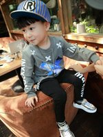 Wholesale Bobo Choses Autumn Cross Printed Sweater Full Sleeve Sweatshirts For m y Nununu Unisex Mini Rodini Toddler Hoodies A055