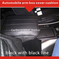 accord pad - 2006 Fashion interior accessory decoration Honda Accord armrest cover cushion Vehicle center Console box cover pad among front car seats