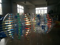 Wholesale With Video Amazing Adult M mm PVC Inflatable Bumper Bubble Football Bumper Ball Bubble Soccer Theme Beach Fun Large Inflatable Toys
