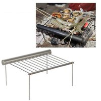 Wholesale Retail package Alocs Camping Portable Charcoal Grill for Outdoor Barbecue Picnic BBQ