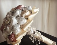 Wholesale Luxury High quality wedding flowers The bride wedding bouquets flower girls bouquet