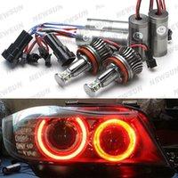 e71 red - Car Led marker bulb W High Power H8 CREE LED Angel Eyes white blue green red yellow for BMW E82 E87 E90 E93 E60 E61 E70 E71