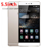 Wholesale quot unlocked cellphone Huawei P8 Plus Phone quot Smartphone P HD MTK6582 GB ROM Android MP Camera wifi GPS