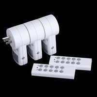 electrical outlets - 120V Electrical Plugs Pack Wireless Remote Control Power Outlet US Plug Socket Switch Set for Lamps Household Appliance H14904