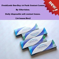 Wholesale Freshlook One Day Colors Pack By Ciba Vision Blue Lenss Box Can Mix Colors Tone Lenses Hours Fast Deliver