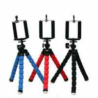 Wholesale Phone Holder Flexible Octopus Tripod Bracket Selfie Stand Mount For iPhone for Samsung for Cameras for Gopro Hero SJ4000 SJ5000