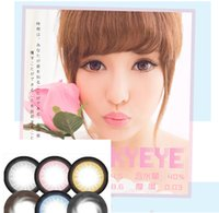 Wholesale New coming HOT Moonshine tone colors color contact lenses DHL shipping pair colorful soft contact lens tone