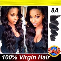 weave bulk - Brazilian Peruvian Malaysian Indian Human Hair bundles Extensions Weft Loose Wave Remy Virgin Weave Mixed length Bleachable Dyeable