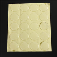 Wholesale 20pcs mm Waterproof clear Round D Crystal Clear Epoxy Adhesive Circles Bottle Cap Stickers Puscard DOME CIRCLE STICKERS