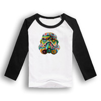 baby clothes basics - 2015 spring and autumn star wars child clothing boys girls long sleeve T shirt child baby cartoon cotton basic shirt