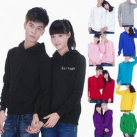 Wholesale New Hooded Sweatshirt Heavy Plain Hoodie Blank Pullover Hoody No Logo Jumper dx110