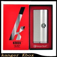 Cheap New kanger Kbox 40W Box Mod fit Subtank Mini Subtank V2 Sub Ohm tank Atomizer vs vaporshark rdna ABS iTaste MVP 2.0 0266008