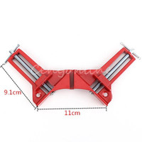 Wholesale Hot Sale degree Right Angle Clamp MM Mitre Clamps Corner Clamp Picture Holder Woodwork order lt no track