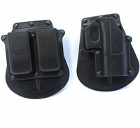 Wholesale Fobus Magazine Paddle Waist Tactical Holster For Glock Airsoft Painball Belt Gun Holster CS Game Combat Gun Pounch