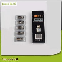 heat pack - 100 pack Jomotech Electronic cigarette atomizer Replacement Coil Head Heating Coils for Jomo lite w jomo Atomizer Core