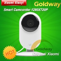 Wholesale Original Xiaomi Smart Camera Xiaomi xiaoyi Small ants smart webcam camcorder for smart home life