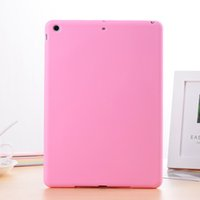 Cheap HOT Sale Soft Silicone Colorful Cases Rubber Gel Cheap Tablet Back Cover Protection Skin For iPad 2 3 4 5 6 Air 1 2 Mini 1 2 3 4 Wholesale