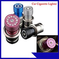Wholesale 1 x Crystal Rhinestones Universal Car Power Plug Socket Cigarette Lgnition Lighter