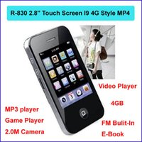 Cheap 4GB 2.8 inches Touch Screen I9 Best mp3 mp4
