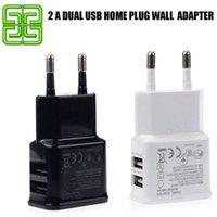 Precio de Notas t móviles-T enchufe USB 5V 2A Adaptador USB cargador de pared para el Galaxy S3 S4 Nota 3 Nota 4 cargador del teléfono móvil