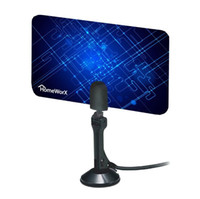 Wholesale Hot New Digital Indoor TV Antenna HDTV DTV Box Ready HD VHF UHF Flat Design High Gain