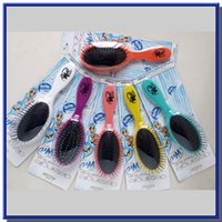 Wholesale Hair Brush Combs Magic Detangling Handle Tangle Shower Hair Brush Comb message combs Salon Styling Tamer Tool